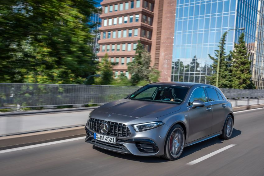 The new Mercedes-AMG performance compact cars Madrid 2019The new Mercedes-AMG performance compact cars Madrid 2019 Image #996642