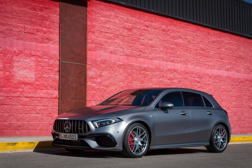 The new Mercedes-AMG performance compact cars Madrid 2019The new Mercedes-AMG performance compact cars Madrid 2019 Image #996646
