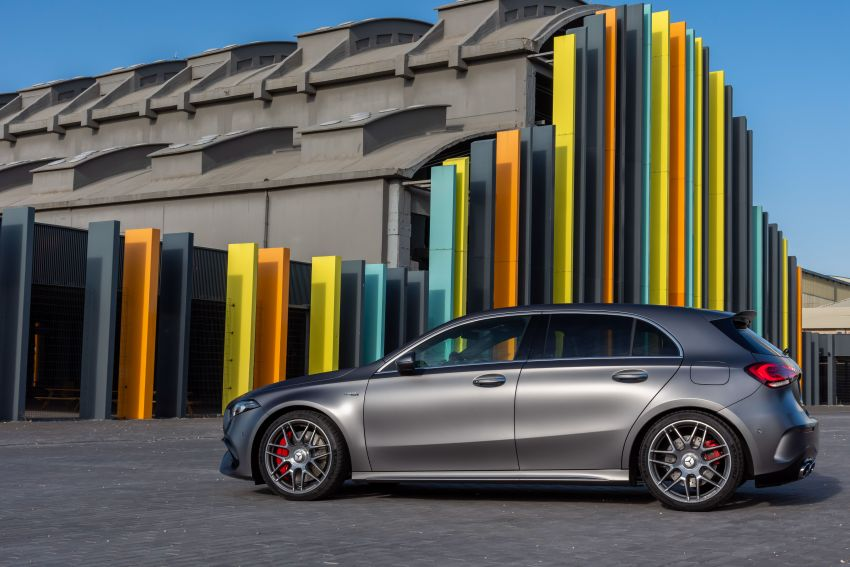 The new Mercedes-AMG performance compact cars Madrid 2019The new Mercedes-AMG performance compact cars Madrid 2019 Image #996647