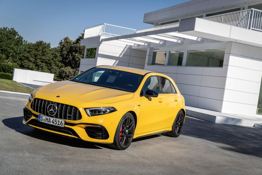The new Mercedes-AMG performance compact cars Madrid 2019null Image #996652