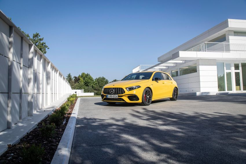 The new Mercedes-AMG performance compact cars Madrid 2019null Image #996653