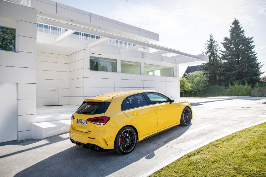 The new Mercedes-AMG performance compact cars Madrid 2019null Image #996654
