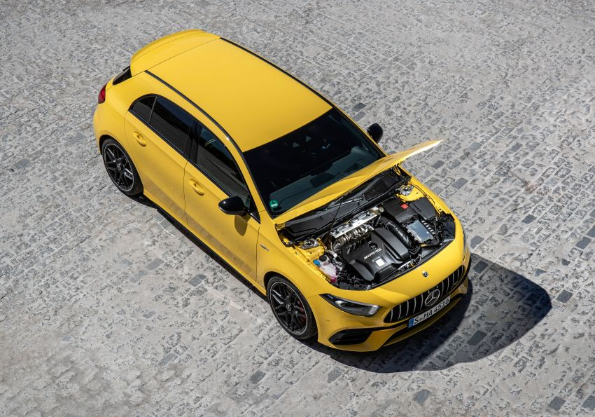The new Mercedes-AMG performance compact cars Madrid 2019null Image #996663