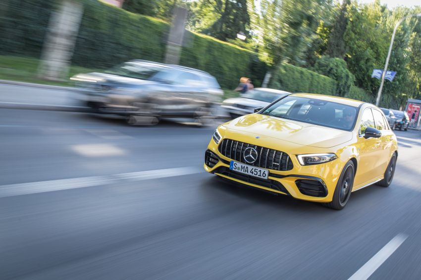 The new Mercedes-AMG performance compact cars Madrid 2019null Image #996667