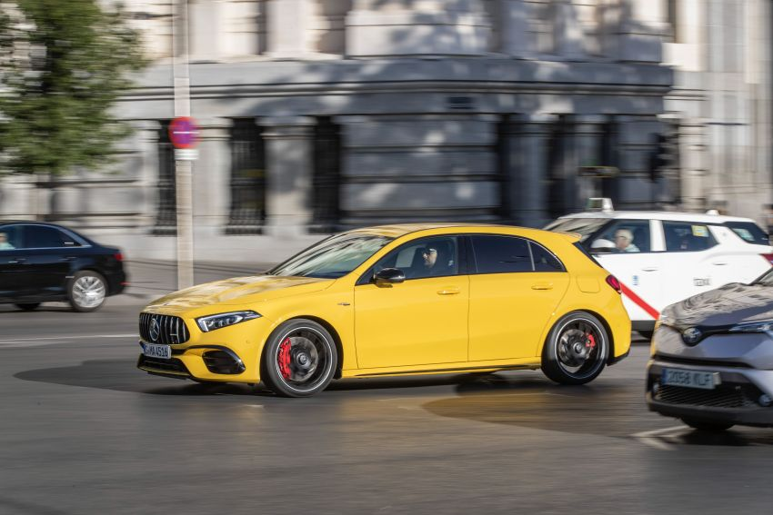 The new Mercedes-AMG performance compact cars Madrid 2019null Image #996669