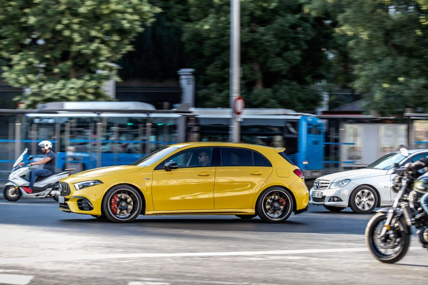 The new Mercedes-AMG performance compact cars Madrid 2019null Image #996670