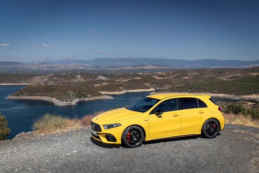 The new Mercedes-AMG performance compact cars Madrid 2019null Image #996676