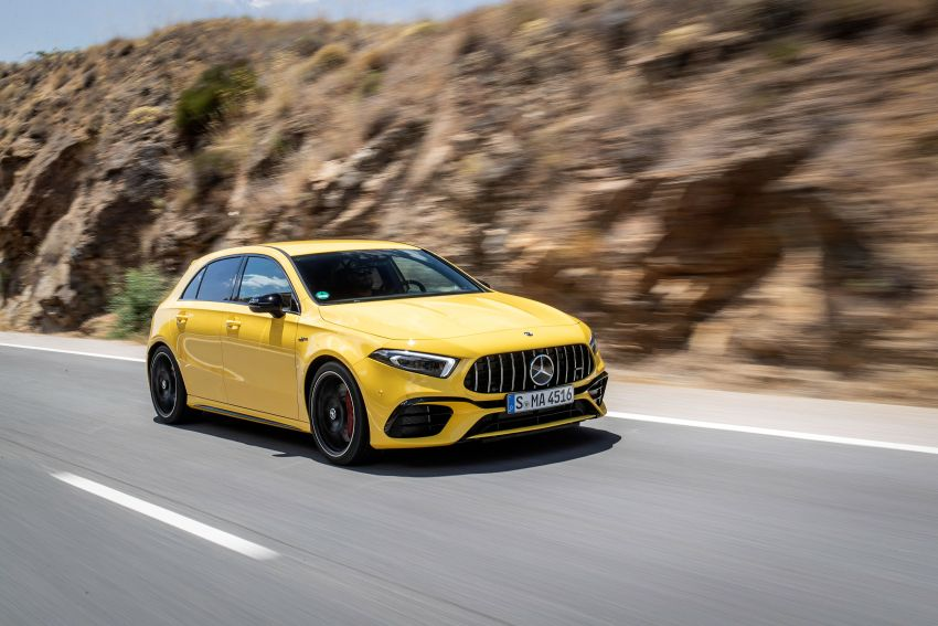 The new Mercedes-AMG performance compact cars Madrid 2019null Image #996678