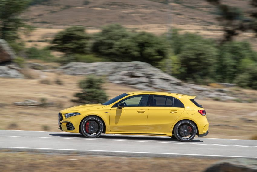 The new Mercedes-AMG performance compact cars Madrid 2019null Image #996683