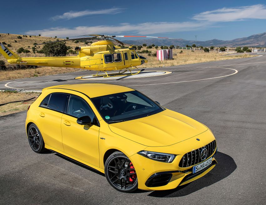 The new Mercedes-AMG performance compact cars Madrid 2019null Image #996685