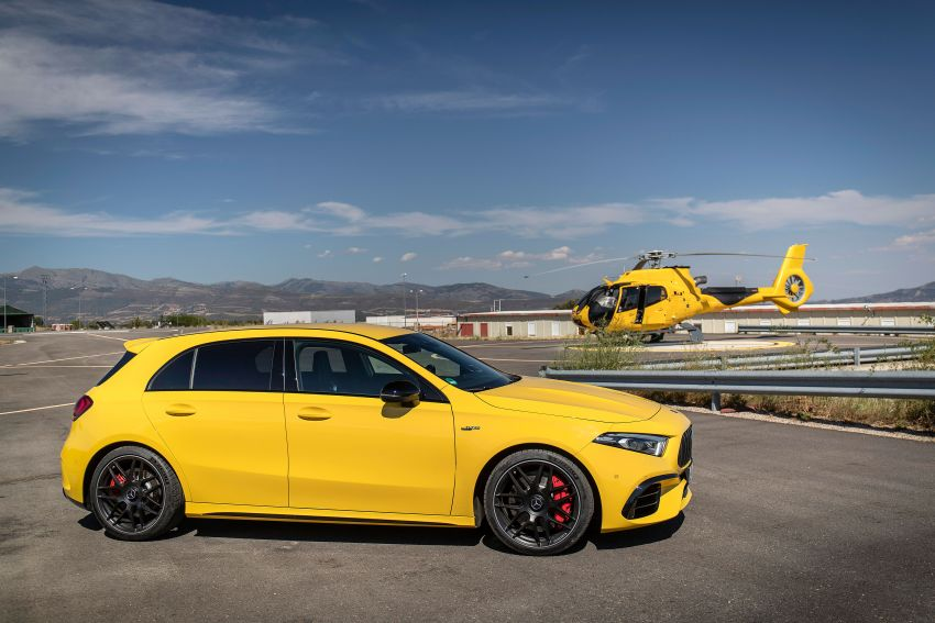 The new Mercedes-AMG performance compact cars Madrid 2019null Image #996686