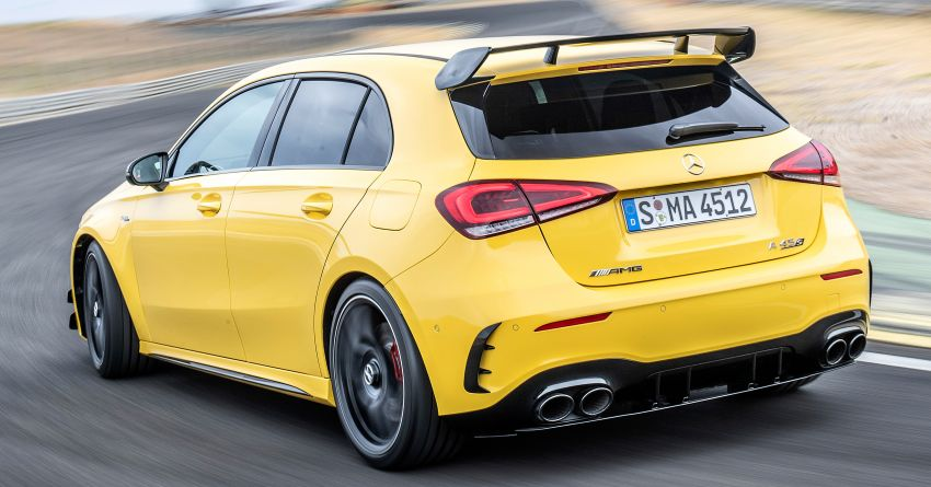 The new Mercedes-AMG performance compact cars Madrid 2019The new Mercedes-AMG performance compact cars Madrid 2019 Image #996628