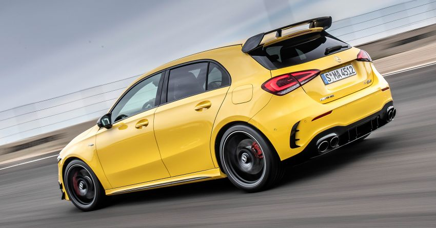 The new Mercedes-AMG performance compact cars Madrid 2019The new Mercedes-AMG performance compact cars Madrid 2019 Image #996629