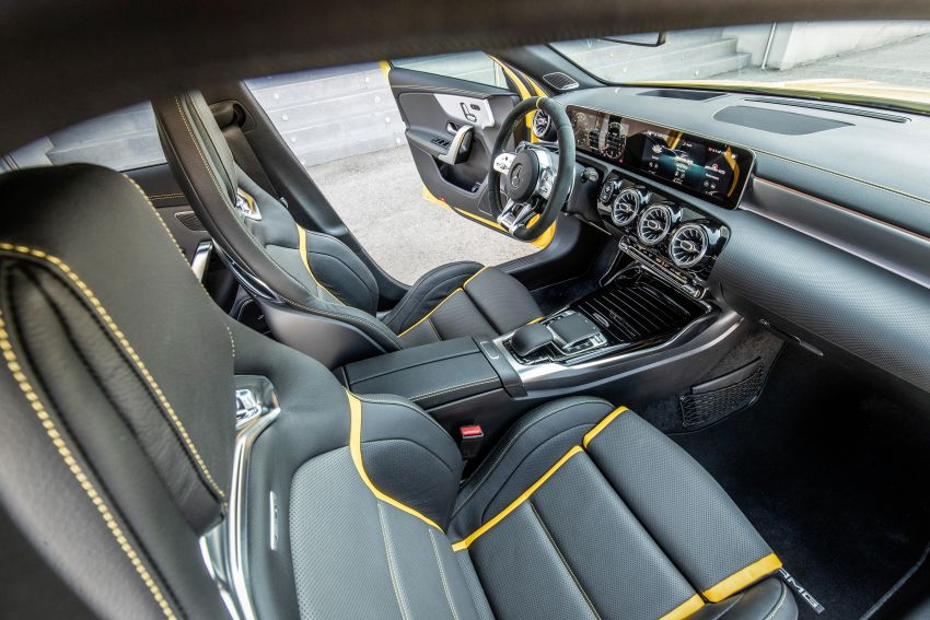 The new Mercedes-AMG performance compact cars Madrid 2019null Image #996703