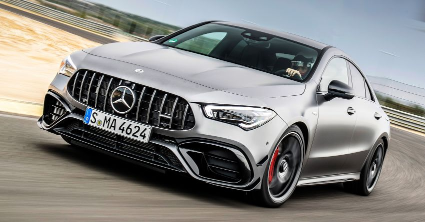The new Mercedes-AMG performance compact cars Madrid 2019null Image #996705