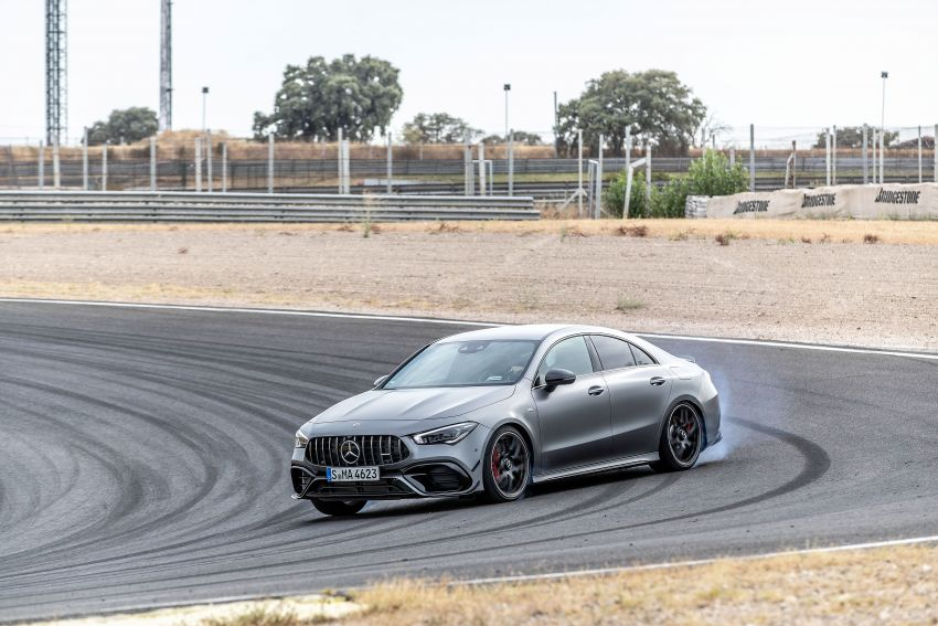 The new Mercedes-AMG performance compact cars Madrid 2019null Image #996715