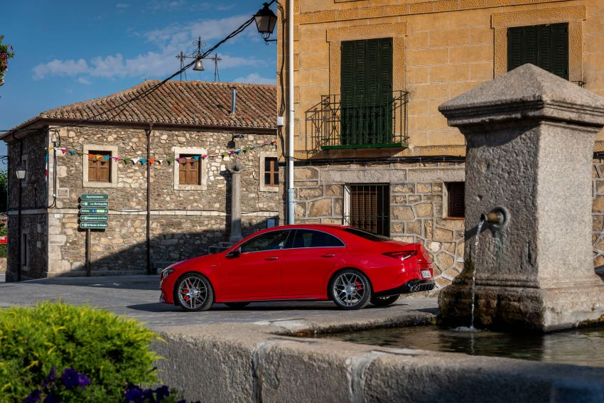 The new Mercedes-AMG performance compact cars Madrid 2019The new Mercedes-AMG performance compact cars Madrid 2019 Image #996718