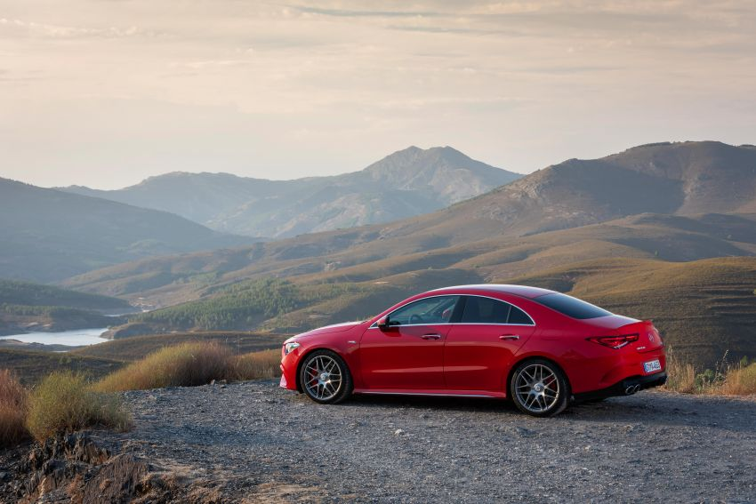 The new Mercedes-AMG performance compact cars Madrid 2019The new Mercedes-AMG performance compact cars Madrid 2019 Image #996719