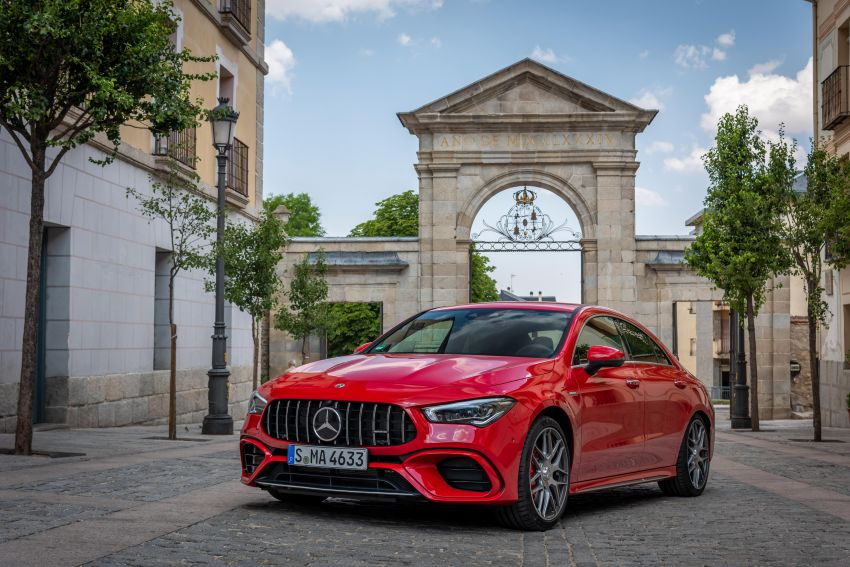 The new Mercedes-AMG performance compact cars Madrid 2019The new Mercedes-AMG performance compact cars Madrid 2019 Image #996744