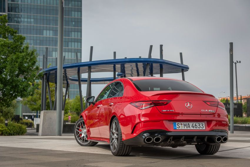 The new Mercedes-AMG performance compact cars Madrid 2019The new Mercedes-AMG performance compact cars Madrid 2019 Image #996746