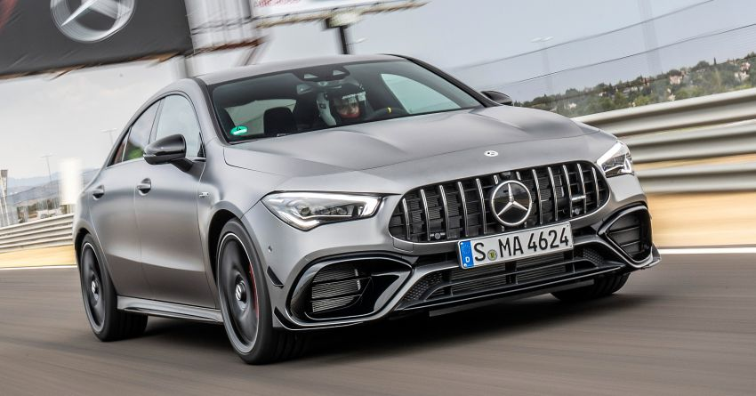 The new Mercedes-AMG performance compact cars Madrid 2019null Image #996706