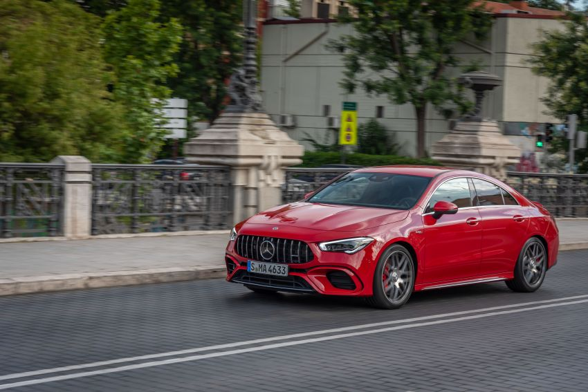 The new Mercedes-AMG performance compact cars Madrid 2019The new Mercedes-AMG performance compact cars Madrid 2019 Image #996747