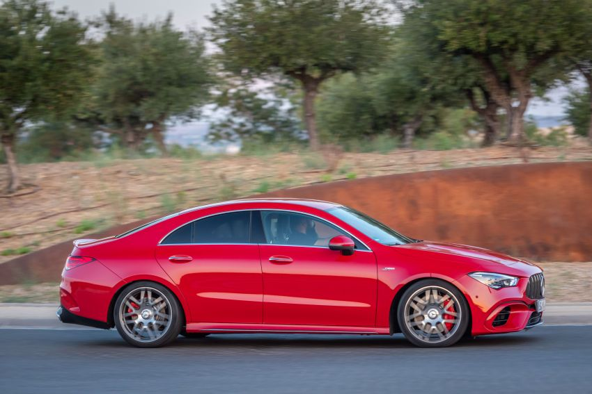 The new Mercedes-AMG performance compact cars Madrid 2019The new Mercedes-AMG performance compact cars Madrid 2019 Image #996748