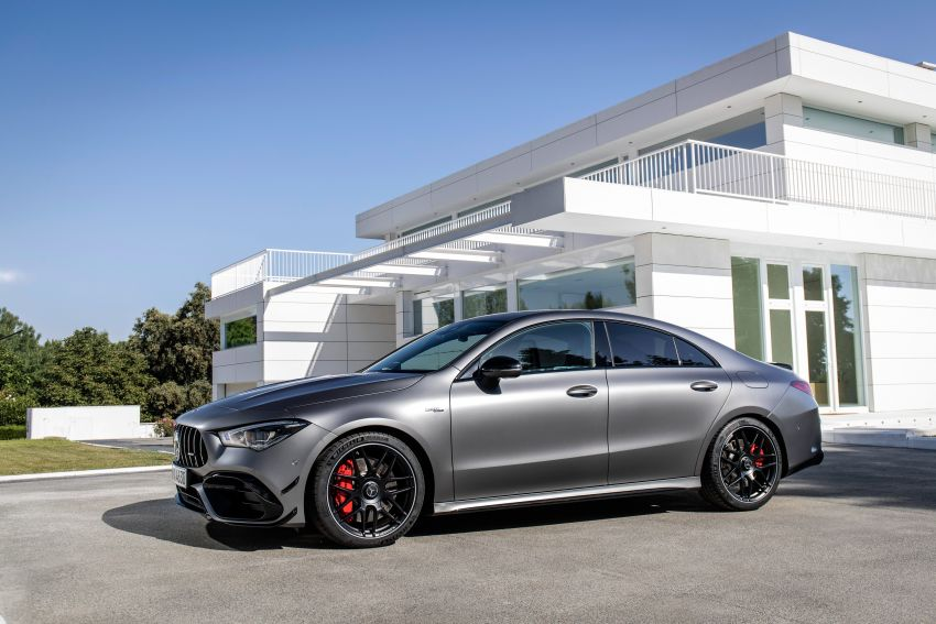 The new Mercedes-AMG performance compact cars Madrid 2019The new Mercedes-AMG performance compact cars Madrid 2019 Image #996752