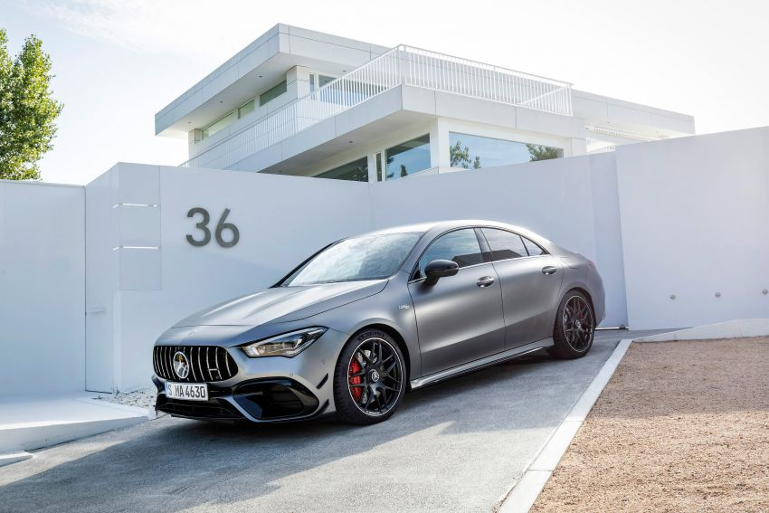 The new Mercedes-AMG performance compact cars Madrid 2019The new Mercedes-AMG performance compact cars Madrid 2019 Image #996753