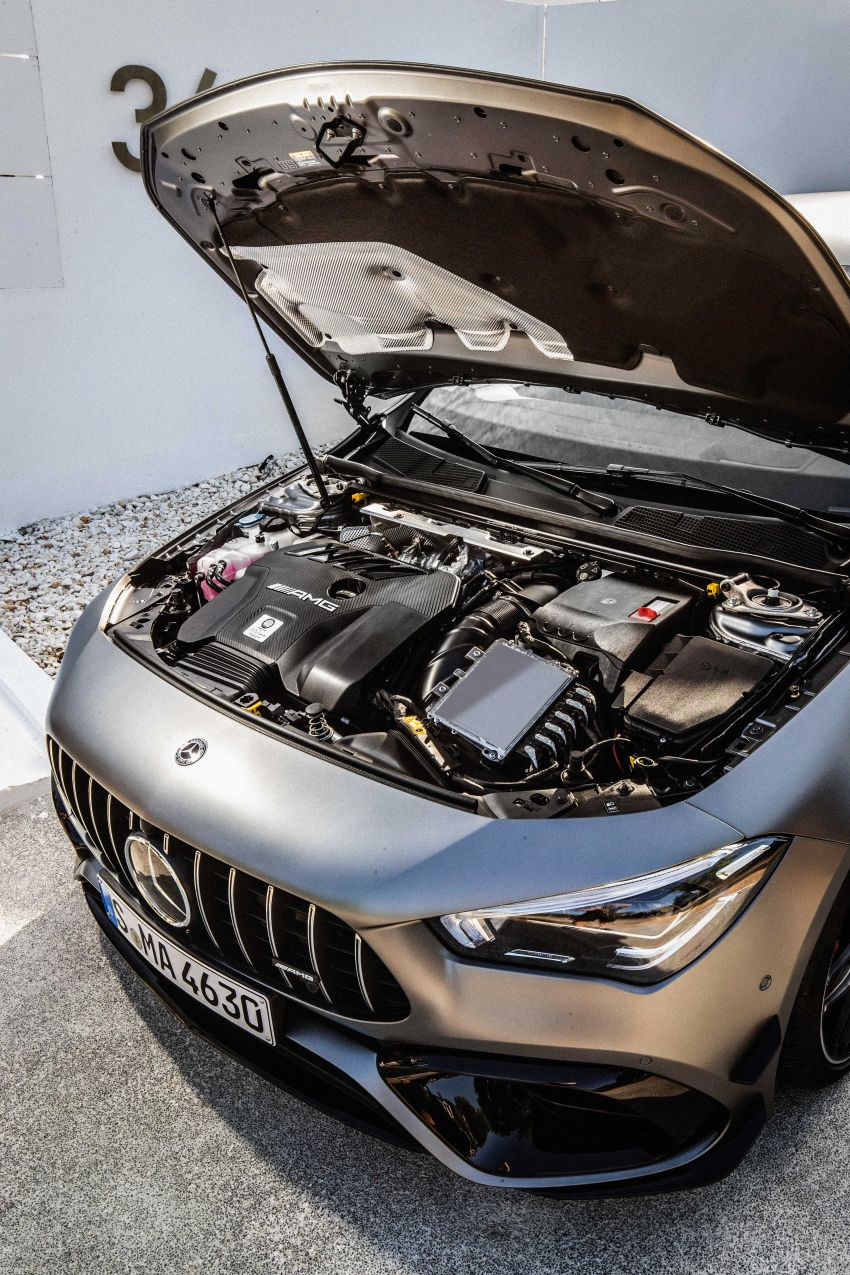 The new Mercedes-AMG performance compact cars Madrid 2019The new Mercedes-AMG performance compact cars Madrid 2019 Image #996755
