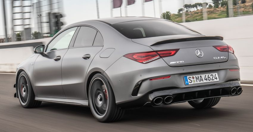 The new Mercedes-AMG performance compact cars Madrid 2019null Image #996707