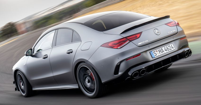 The new Mercedes-AMG performance compact cars Madrid 2019null Image #996708