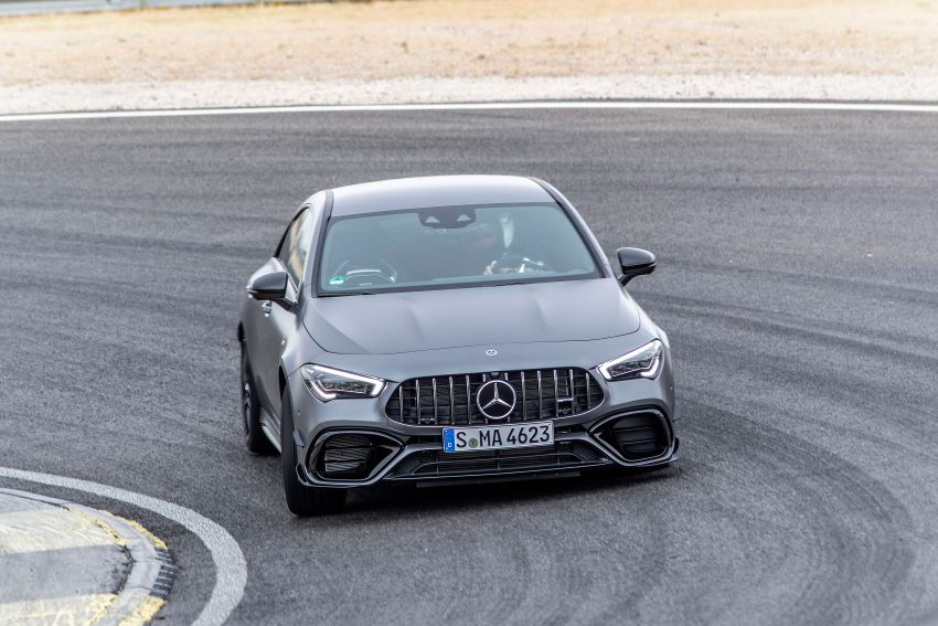 The new Mercedes-AMG performance compact cars Madrid 2019null Image #996709