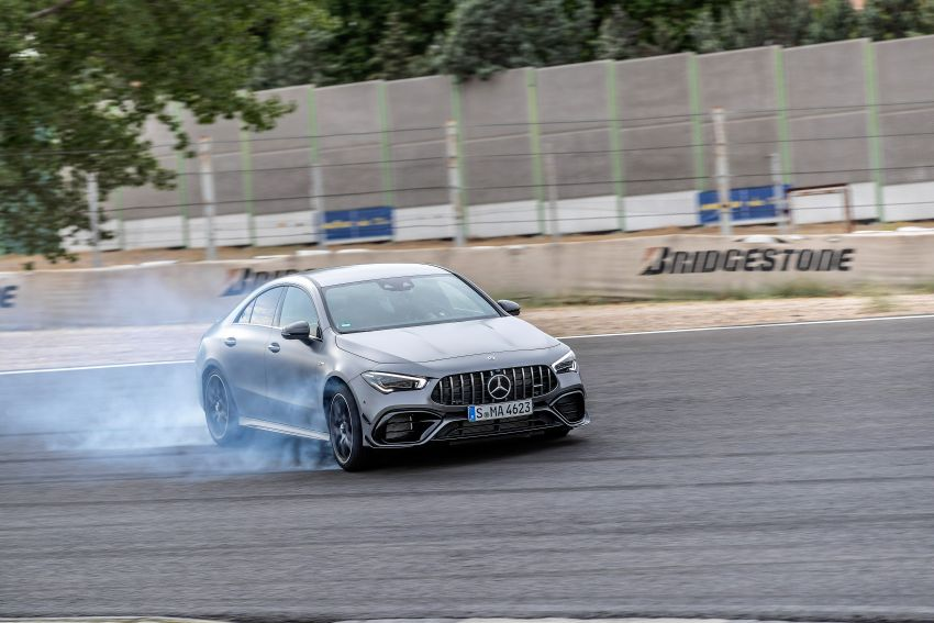 The new Mercedes-AMG performance compact cars Madrid 2019null Image #996712