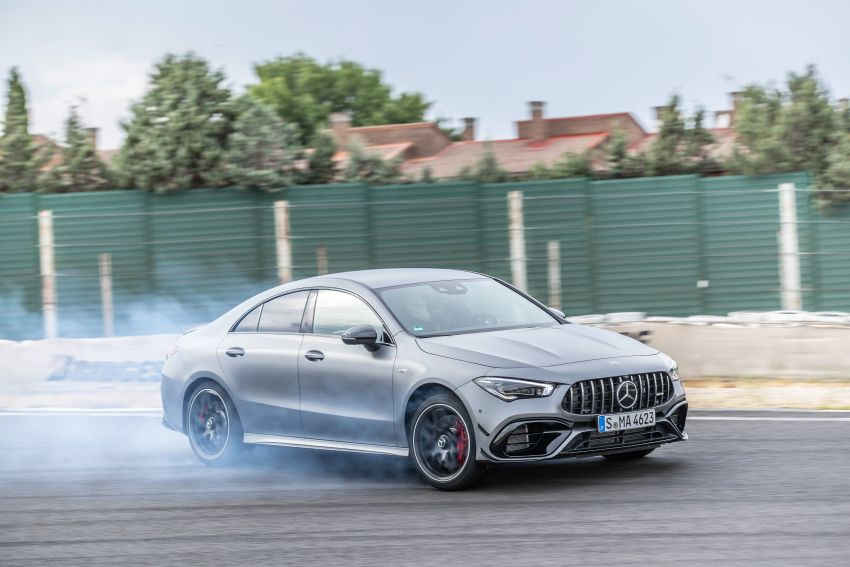 The new Mercedes-AMG performance compact cars Madrid 2019null Image #996713