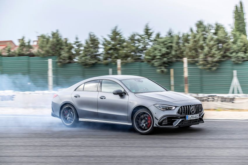 The new Mercedes-AMG performance compact cars Madrid 2019null Image #996714