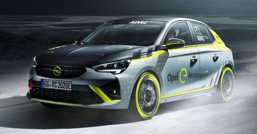 Opel Corsa-e Rally – kereta rali elektrik sepenuhnya pertama di dunia bakal buat penampilan di Frankfurt Image #1005487