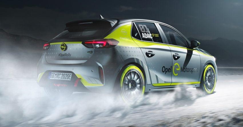 Opel Corsa-e Rally – kereta rali elektrik sepenuhnya pertama di dunia bakal buat penampilan di Frankfurt Image #1005486