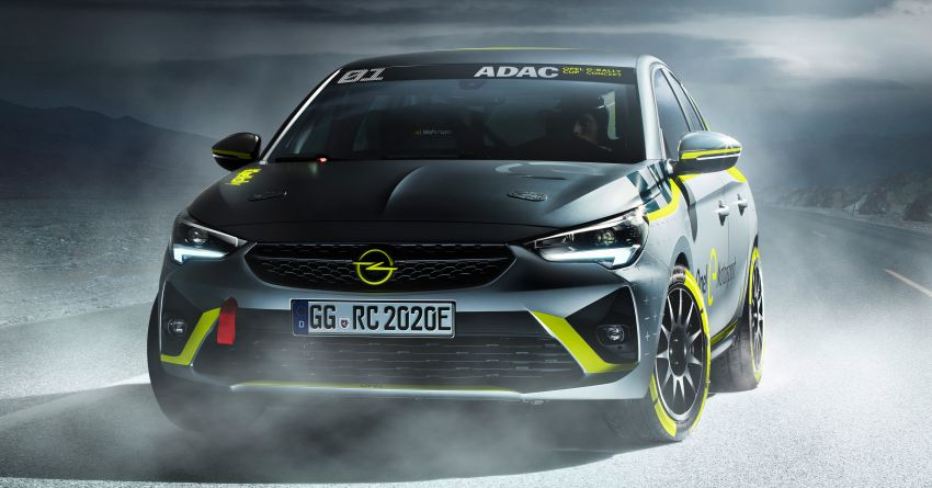Opel Corsa-e Rally – world's first full electric rally car! Image #1005273
