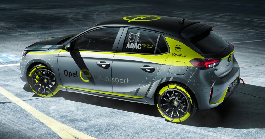 Opel Corsa-e Rally – world's first full electric rally car! Image #1005274