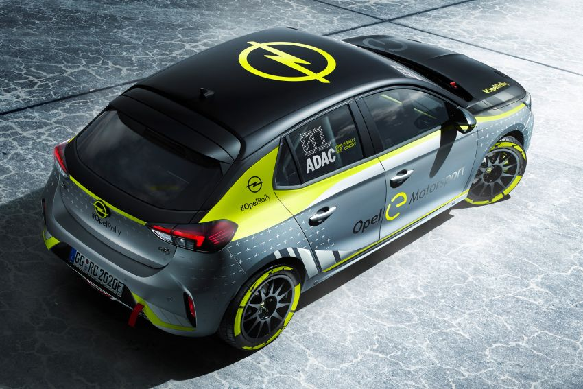 Opel Corsa-e Rally – world's first full electric rally car! Image #1005275