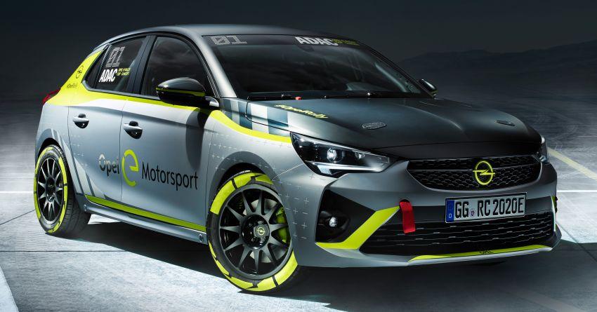 Opel Corsa-e Rally – kereta rali elektrik sepenuhnya pertama di dunia bakal buat penampilan di Frankfurt Image #1005480
