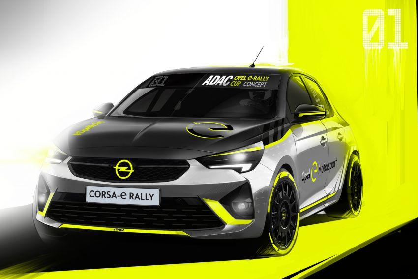 Opel Corsa-e Rally – kereta rali elektrik sepenuhnya pertama di dunia bakal buat penampilan di Frankfurt Image #1005478