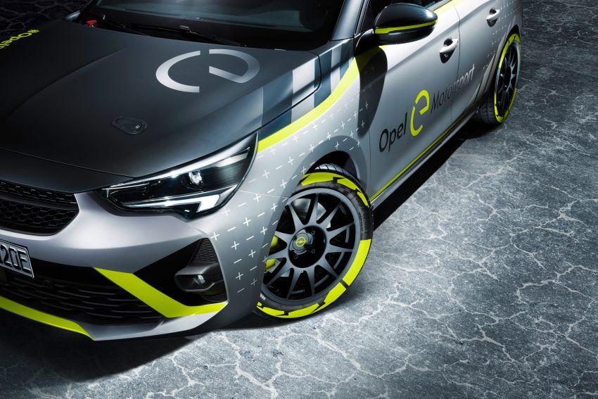 Opel Corsa-e Rally – kereta rali elektrik sepenuhnya pertama di dunia bakal buat penampilan di Frankfurt Image #1005477