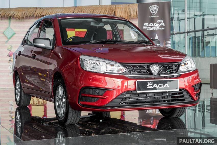 GALLERY: 2019 Proton Saga 1.3 Standard AT – RM36k Image #998773