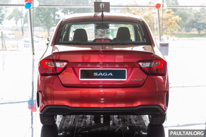 GALLERY: 2019 Proton Saga 1.3 Standard AT – RM36k Image #998780
