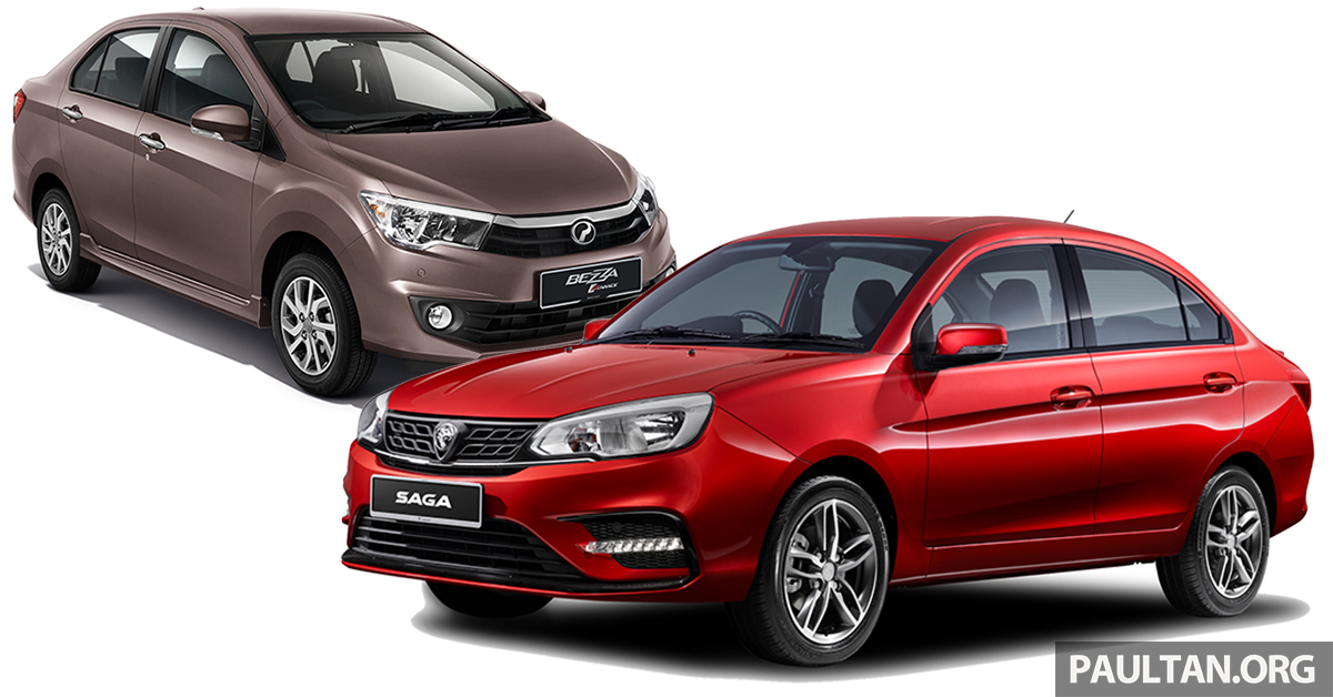 2019 Proton Saga Vs Perodua Bezza We Compare The Service Costs Of Both Over Five Years 100 000 Km Paultan Org