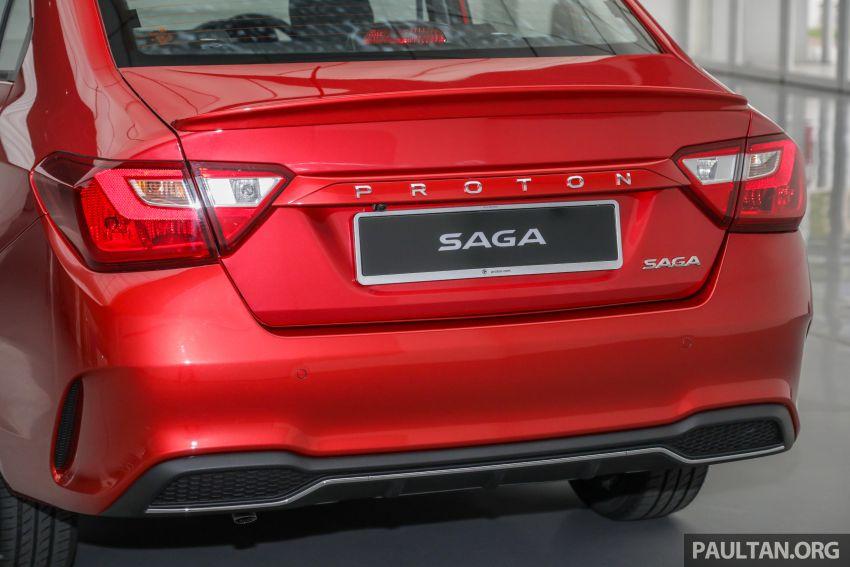 Proton Saga 2019 dilancarkan di Malaysia – tiga varian, transmisi 4AT Hyundai dan harga bermula RM32,800 Image #998161