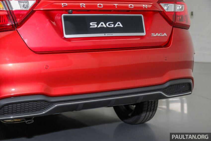 Proton Saga 2019 dilancarkan di Malaysia – tiga varian, transmisi 4AT Hyundai dan harga bermula RM32,800 Image #998166