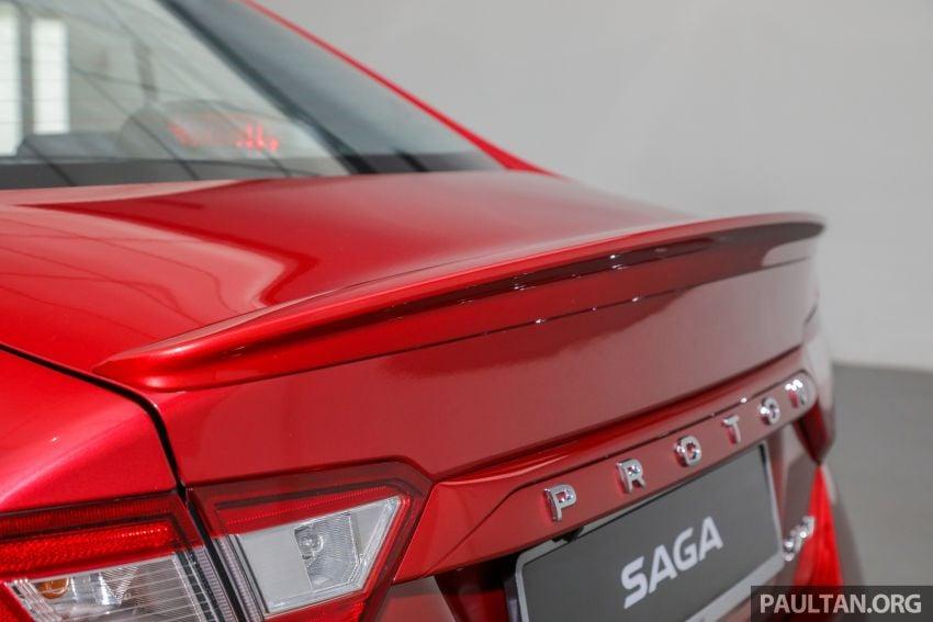 Proton Saga 2019 dilancarkan di Malaysia – tiga varian, transmisi 4AT Hyundai dan harga bermula RM32,800 Image #998167